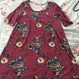 Pink Rose dress XS